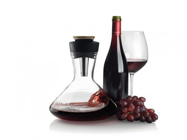 Raudonojo vyno grafinas