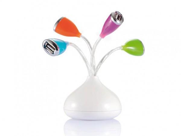 LED šviesos USB jungtys